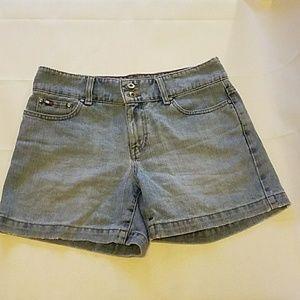 Tommy Hilfiger Blue Denim Shorts Size 4